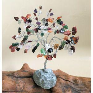 Natural Handmade Gemstone Tree 100 Stones